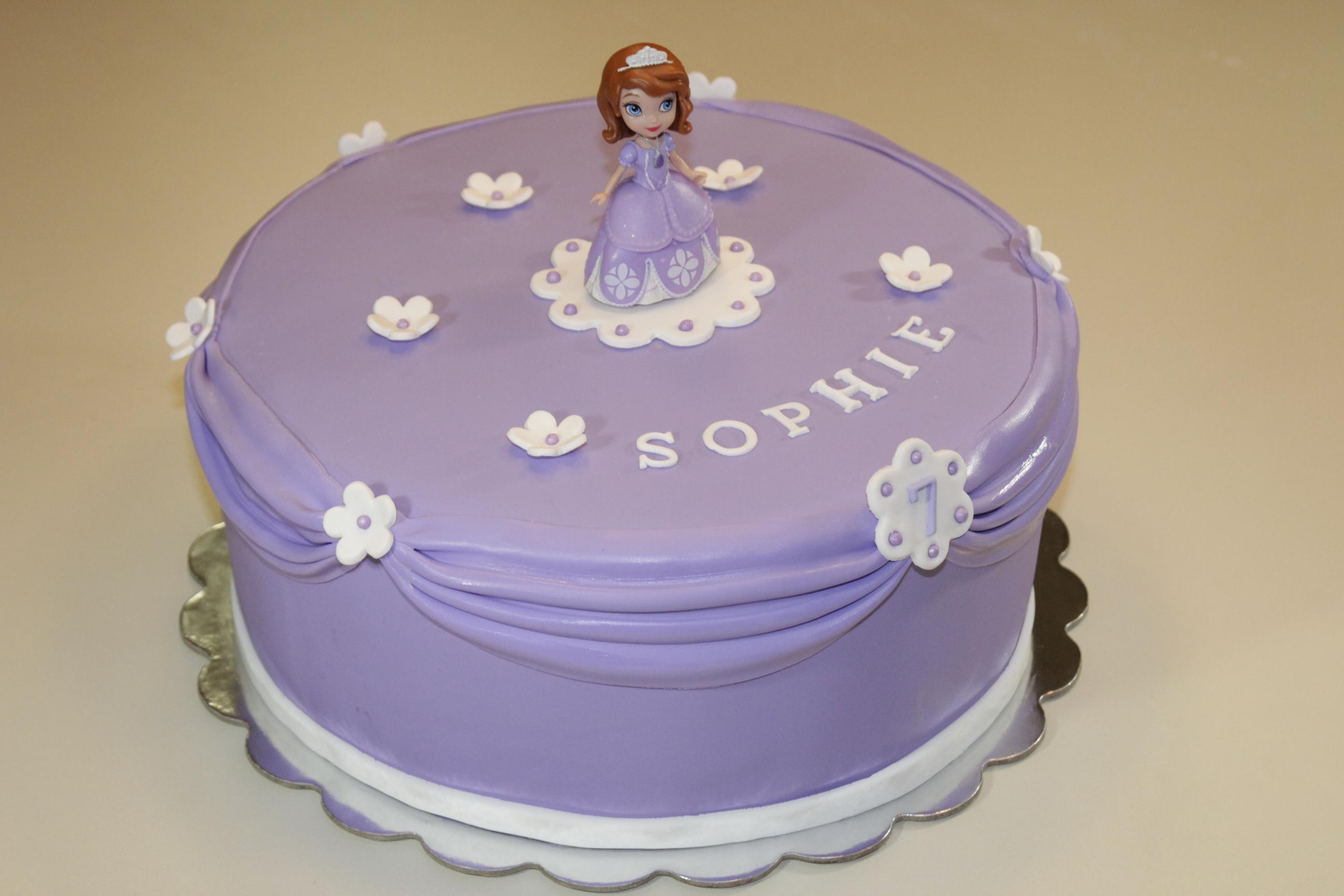 Princess Sofia The First Cake Cake Celebrations