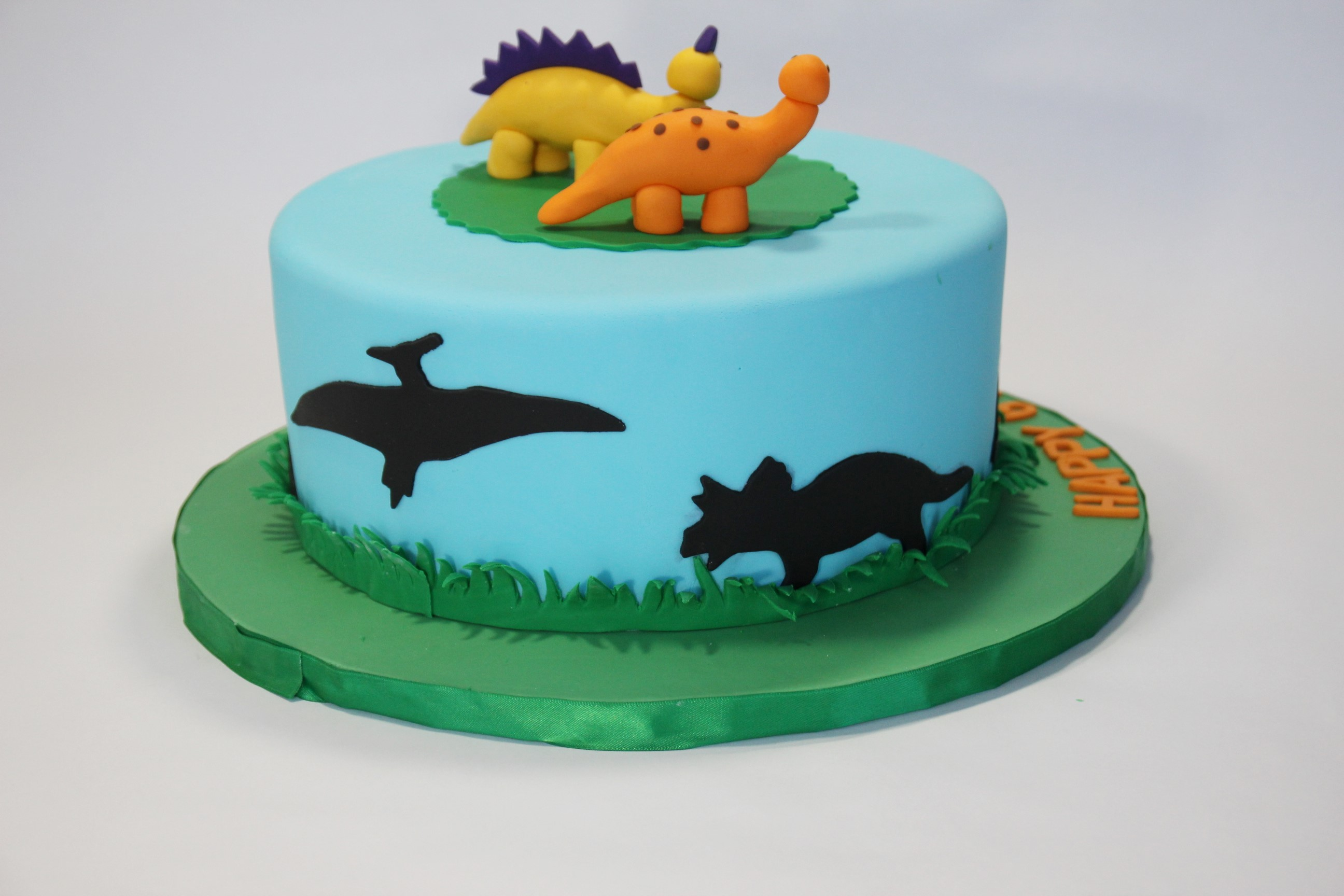 How To Make Dinosaur Cake Toppers